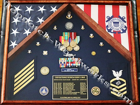 2 Flag shadow box 1