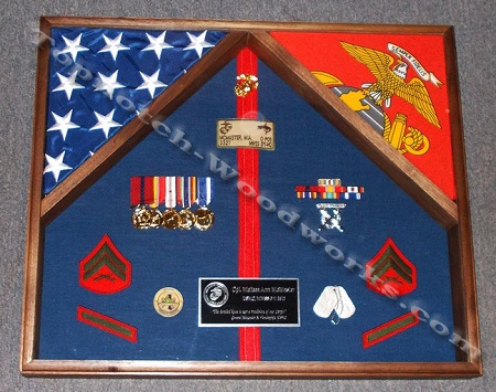 2 flag shadowbox