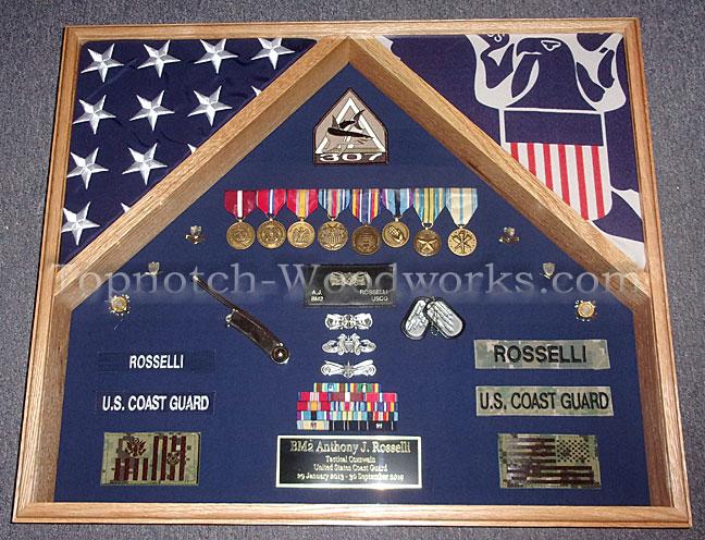 Coast Guard 2 flag case