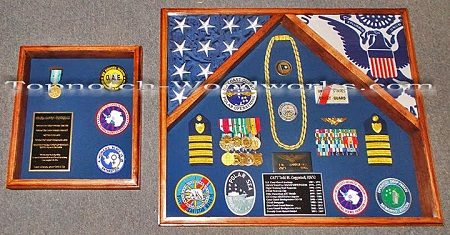 Husband and Wife double shadow box