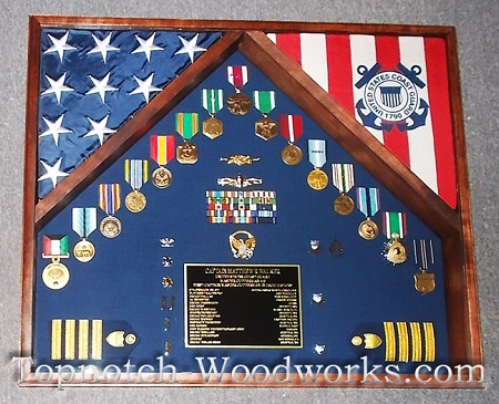 National guard shadow box