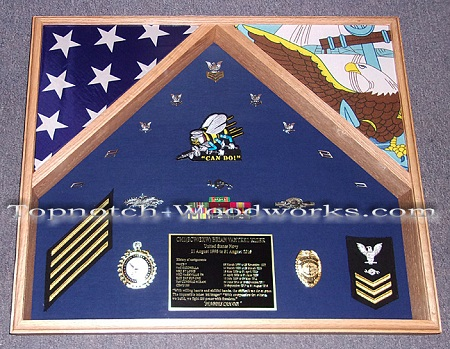 SeeBee Shadow box 2 flags