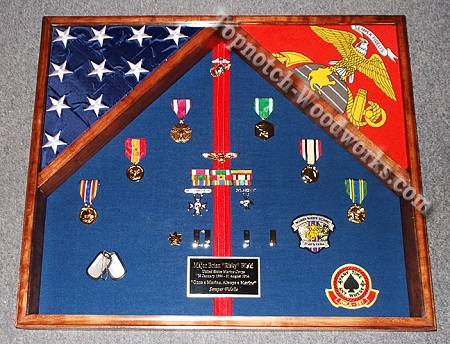 USMC-2-flag-shadow-box-WM