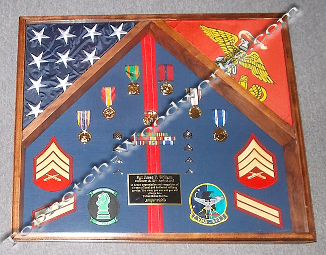 USMC shadow box A1