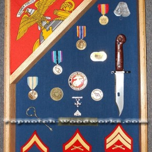 18x24 flag display case