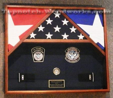 3 flag military show box z