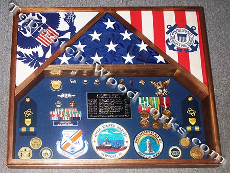 3 flag shadow box  3
