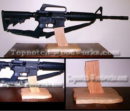 AR15 Display Stand
