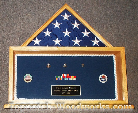 Armed forces shadow box military