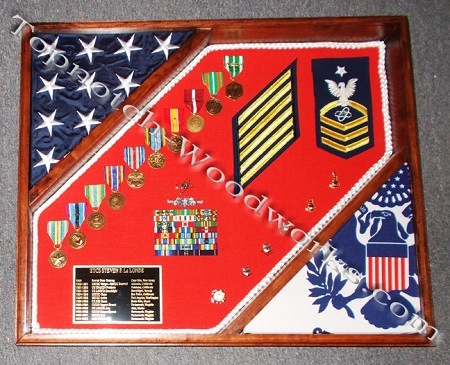 Armed forces shadow box