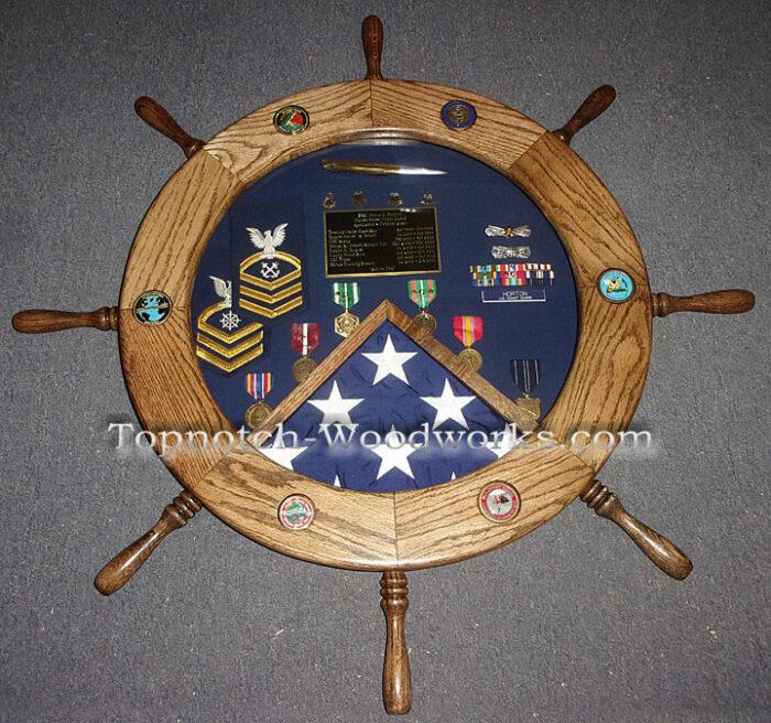 Army military shadow box