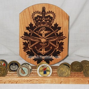 Canadian Armed Forces Challenge Coin Display Stand