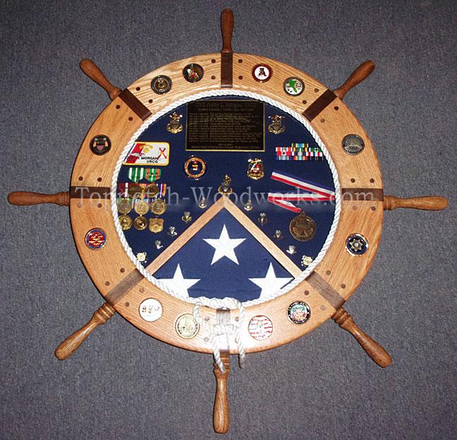 Coast Guard Shadow box