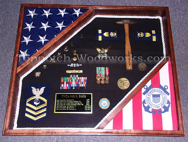 Cutter shadow box USCG