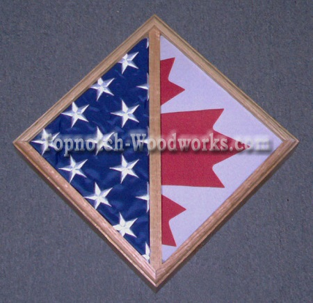 DOUBLE FLAG CASE WLL MOUNT
