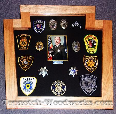 Police shadow box