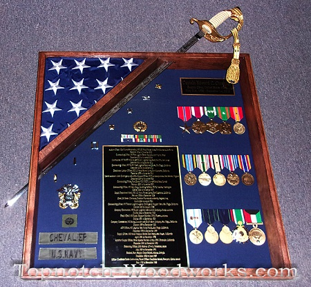 Shadow box with Sword