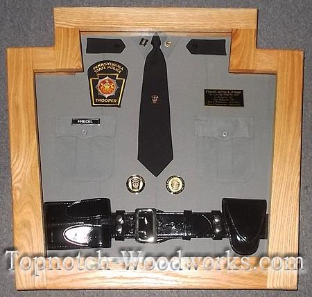 State trooper shadowbox