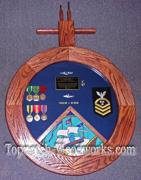 Submarine Shadow box Navy shadow box