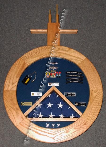 Submarine shadow box