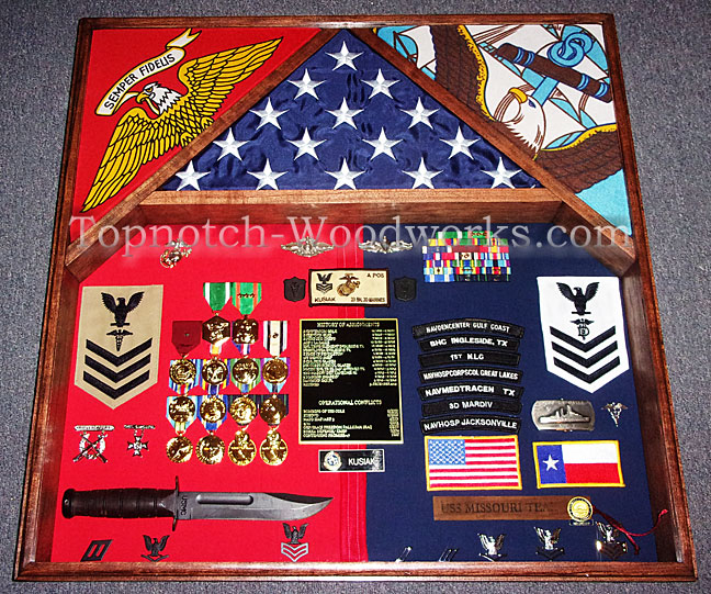 US Navy Corpsman Shadow box