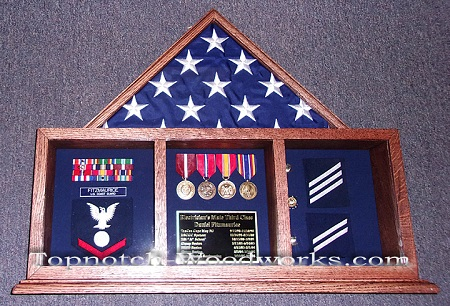 US military shadow box