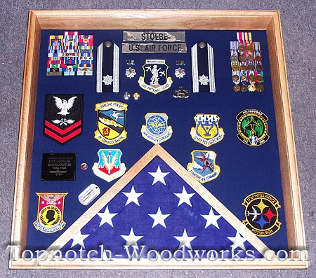 USAF Square Shadow box