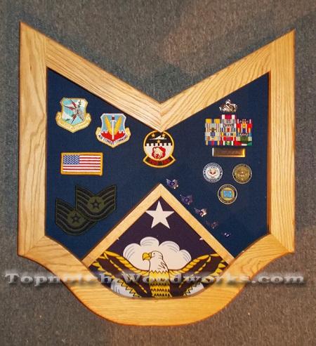 USAF Technical SGT Shadow Box