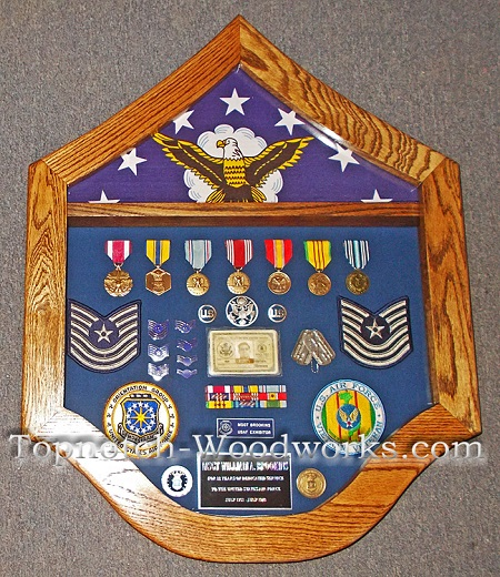 USAF Vietnam shadow box
