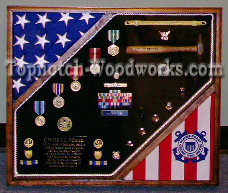 USCG Cutter Shadow box _ 2