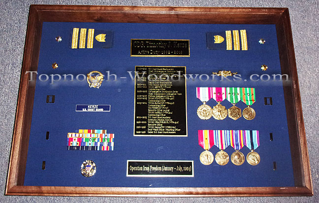 USCG Shadow box without flags