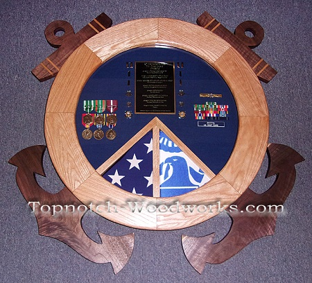 USCG Shield non rate shadowbox