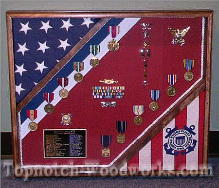 USCG shadow box