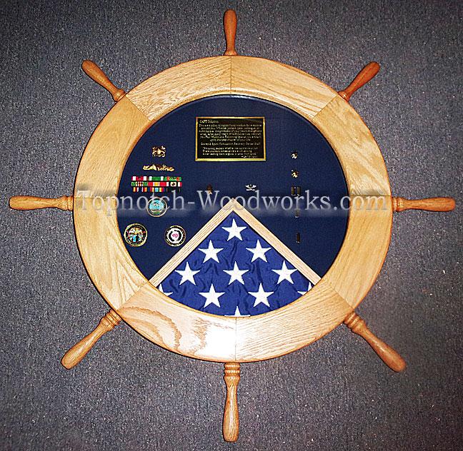 USMC Helm SHadow box