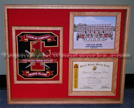 USMC Shadow Box