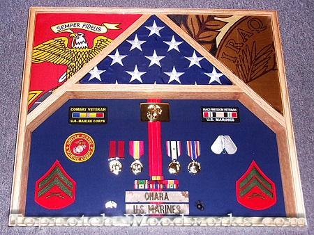 USMC shadowbox Iraqi Freedom