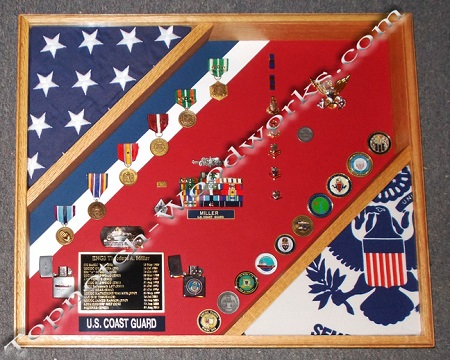 Uscg Cutter shadow box