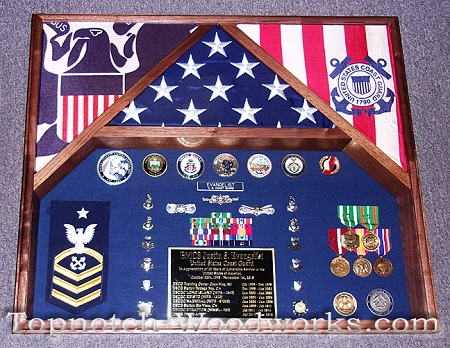 air force 3 flag shadow box