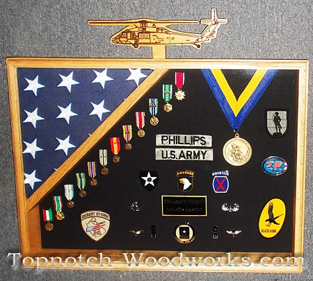 army retirement shadow box