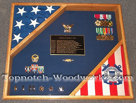 coast guard cutter shadow box