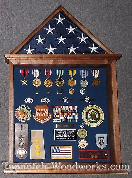 doughouse military shadow box