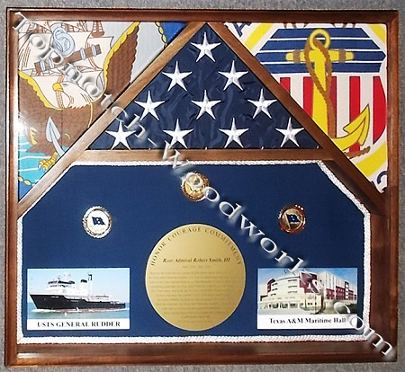 merchant marines shadow box