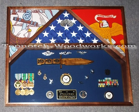 navy-marine-3-flag-shadow box