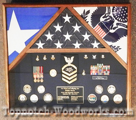 puerto rico flag shadow box