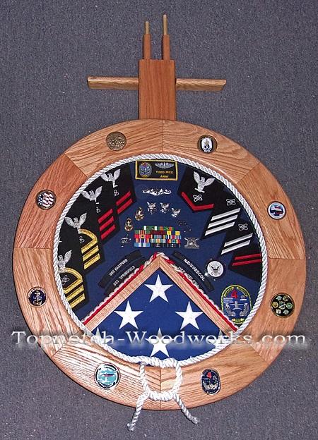 submarine shadow box us navy