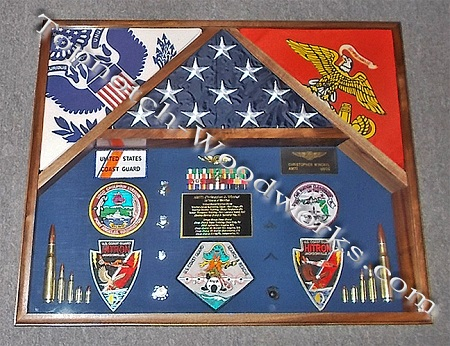 united state marine corps shadow box