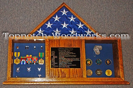 united states navy shadow box