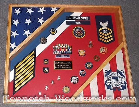 us army shadow box