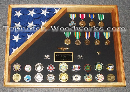 us marines shadow box