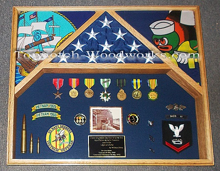 us navy shadow box seebees
